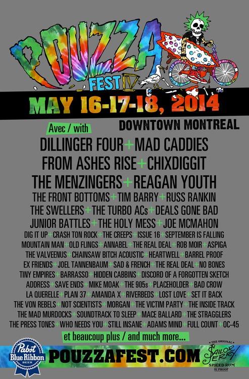 Pouzza Fest IV (2014) - Poster
