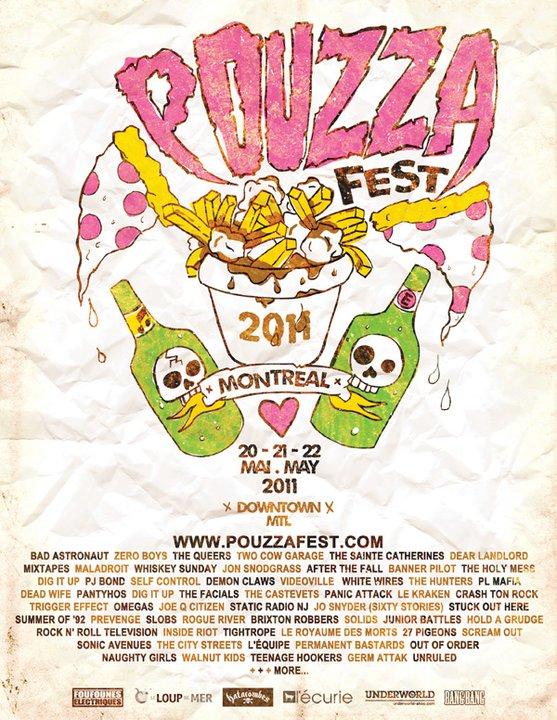 Pouzza Fest (2011) - Poster